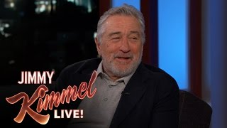 Robert De Niro on playing an aging comedian in The Comedian