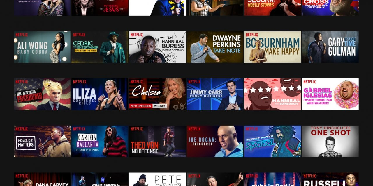 2016: The year we doubled the number of stand-up comedy specials. 2017: Doubling again?