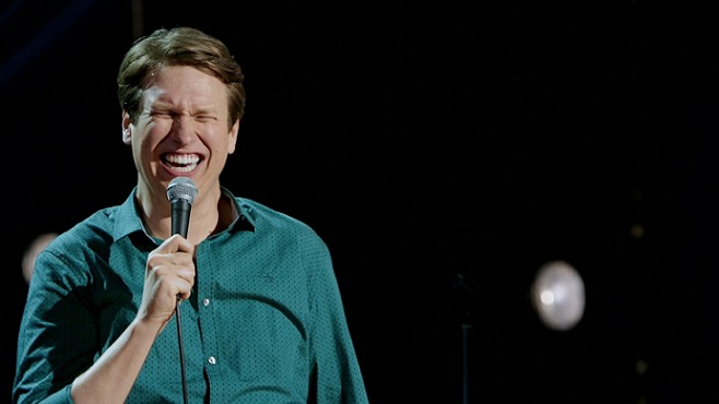 """Review: Pete Holmes, """"Faces and Sounds"""" on HBO"""