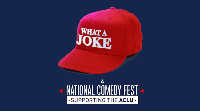 WHAT A JOKE: Comedians organize festival of shows nationwide over Inauguration Day Weekend to support ACLU