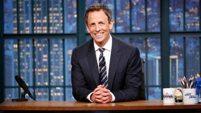 NBC gives Late Night with Seth Meyers a primetime slot for New Year's Eve to close out 2016