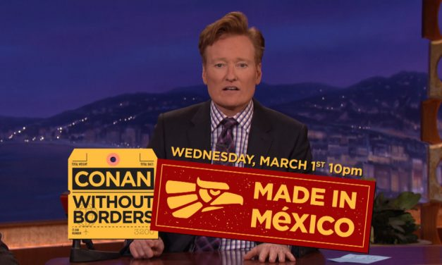 Conan O'Brien heading to Mexico City to broadcast primetime TBS special for all-Mexican audience