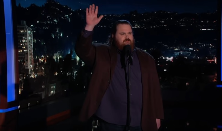 K. Trevor Wilson on Jimmy Kimmel Live
