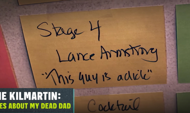 "Review: Laurie Kilmartin, ""45 Jokes About My Dead Dad,"" on Seeso"