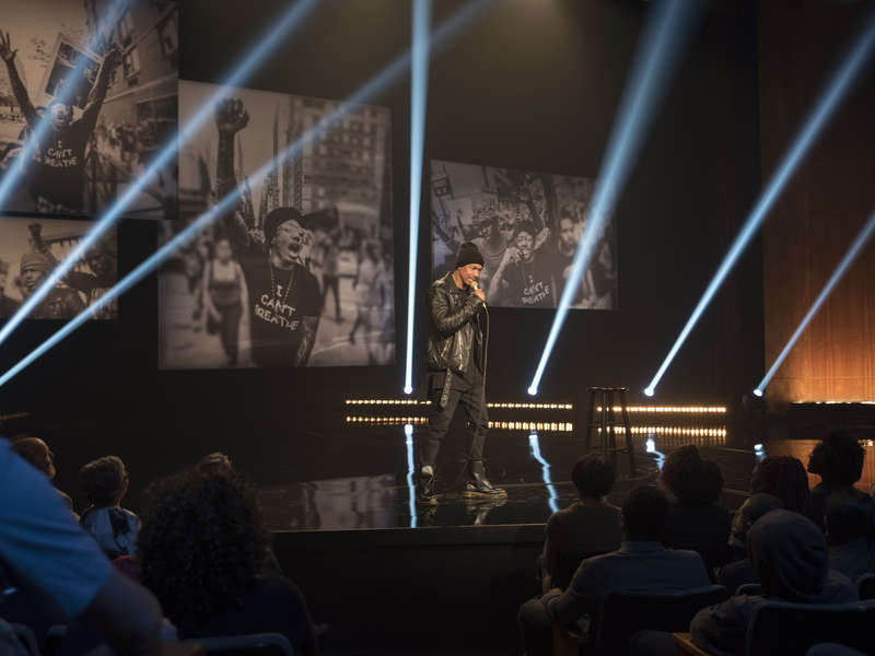 """Review: Nick Cannon """"Stand Up, Don't Shoot"""" on Showtime"""