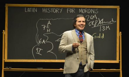 "John Leguizamo preps ""Latin History for Morons"" for Public Theater Off-Broadway run"