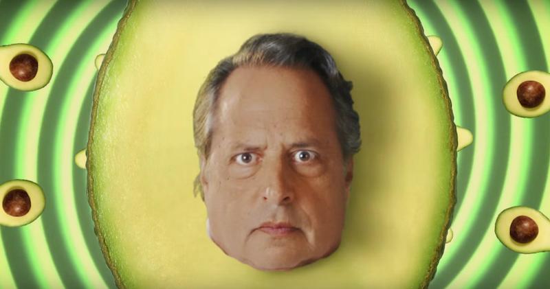 Jon Lovitz subliminal Super Bowl advertisement for avocados from Mexico
