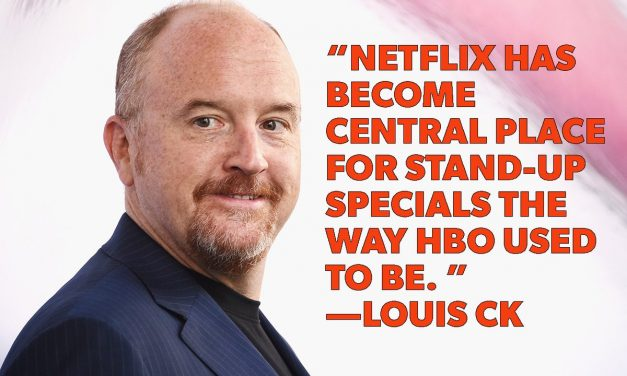 Louis CK joins everyone else who's big in comedy with a Netflix special in 2017