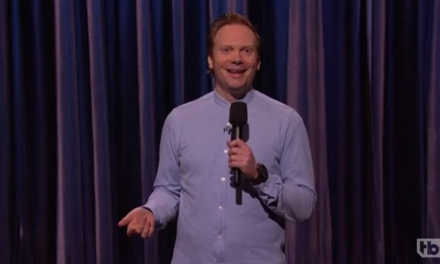 Nathan Macintosh's American late-night TV debut on Conan