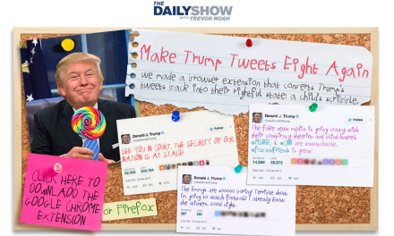 The Daily Show with Trevor Noah makes President Donald Trump Tweet like an eight-year-old again