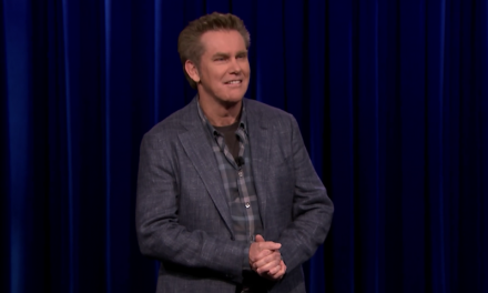 Brian Regan on The Tonight Show Starring Jimmy Fallon, announces two-special deal with Netflix
