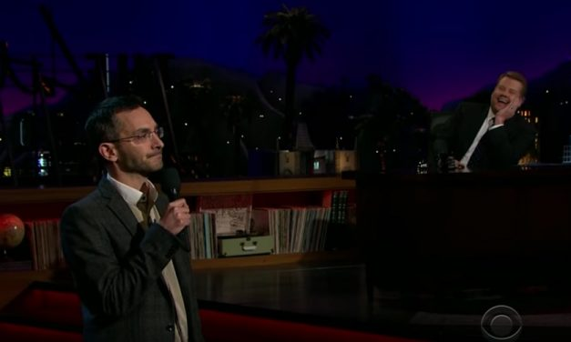 Myq Kaplan on The Late Late Show with James Corden
