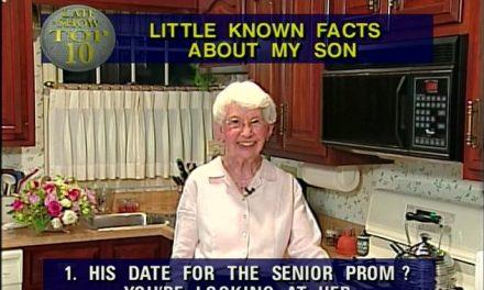 """RIP Dorothy Hofert Letterman Mengering, aka """"Dave's Mom"""""""
