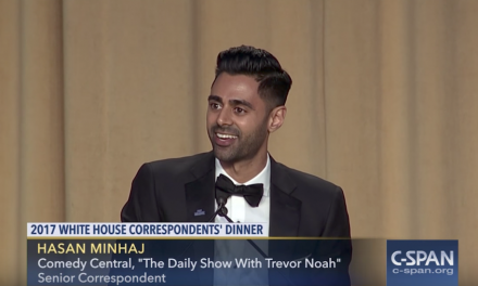 Hasan Minhaj keynote speech at the 2017 White House Correspondents Association dinner