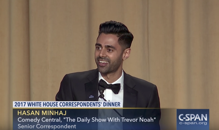 Hasan Minhaj keynote speech at the 2017 White House Correspondents Association dinner