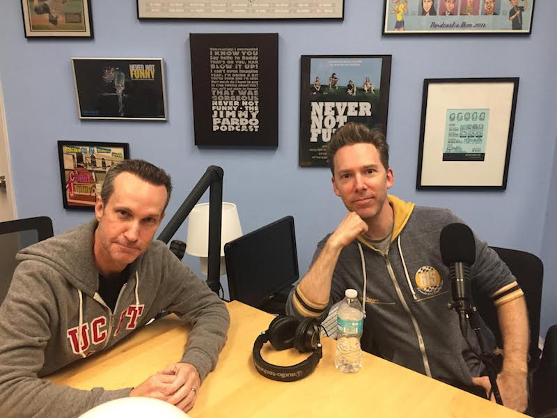 Episode #146: Never Not Funny's Jimmy Pardo and Matt Belknap