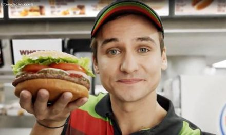 Moses Storm in whopper of a Burger King commerical: OK, Google?