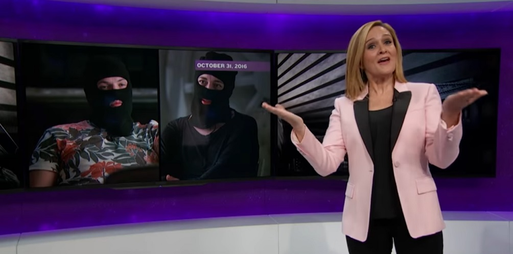 Samantha Bee reminds us she was on the case of Russian hacking and fake news trolling BEFORE the election