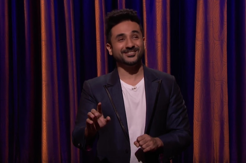 Vir Das makes his American late-night TV debut on Conan