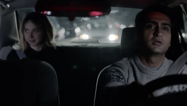 """Watch the trailer for """"The Big Sick"""" based on Kumail Nanjiani and Emily Gordon's real life love"""