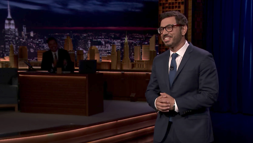 Al Madrigal on The Tonight Show Starring Jimmy Fallon