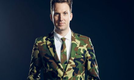 Jordan Klepper Solves Guns as a prelude to his own Comedy Central series