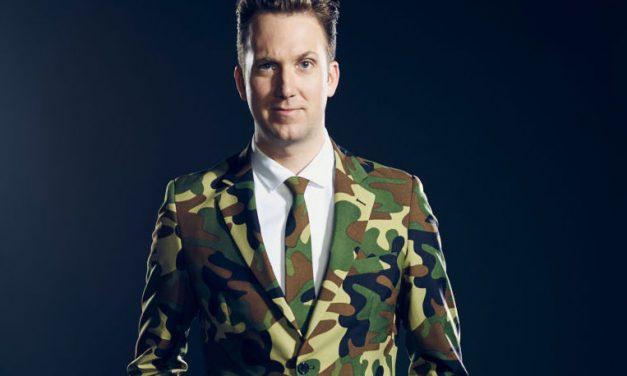 Jordan Klepper Solves Guns as a prelude to his own Comedy Central series
