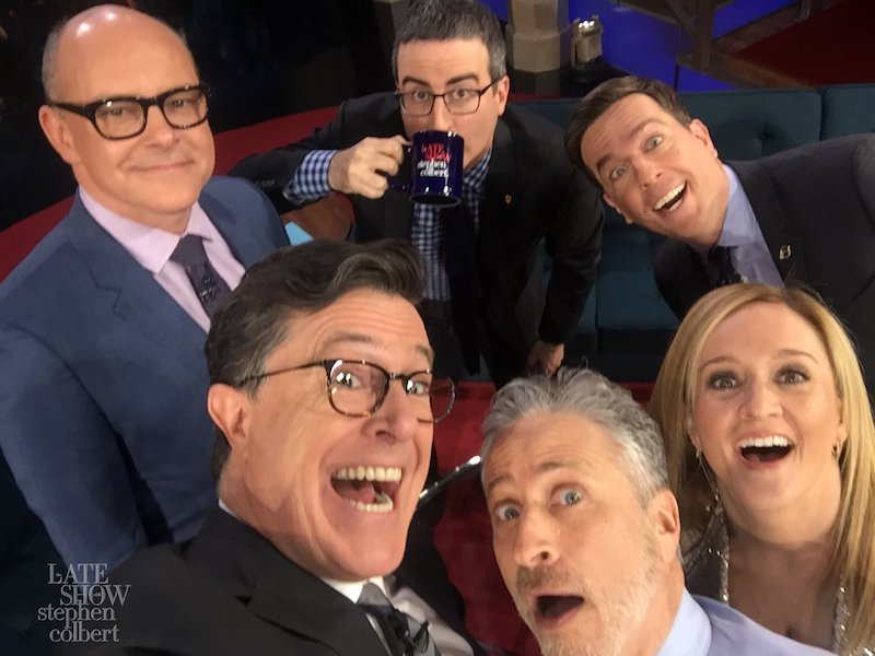 The Late Show with Stephen Colbert's reunion of The Daily Show with Jon Stewart