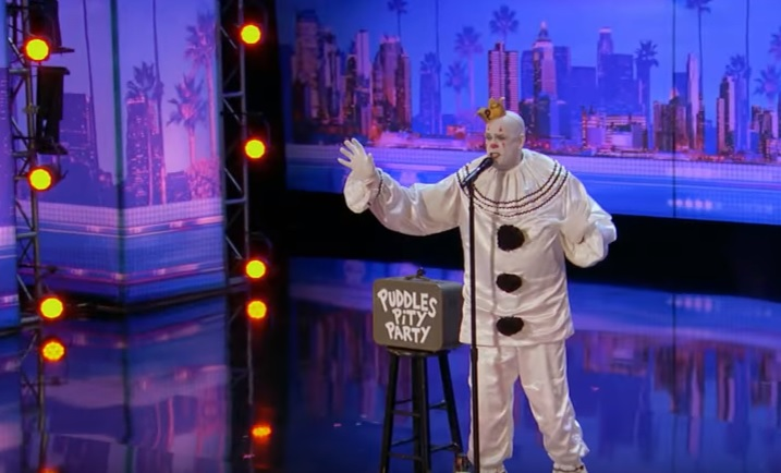 Puddles Pity Party auditions for America's Got Talent 2017