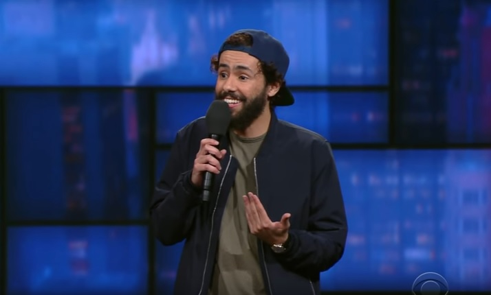 Ramy Youssef network TV debut on The Late Show with Stephen Colbert