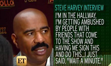 Steve Harvey explains that memo to his Chicago talk show staff