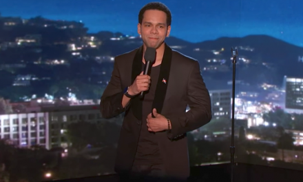 Vladimir Caamano on Jimmy Kimmel Live