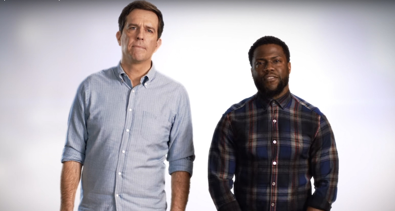 Ed Helms recalls knowing Kevin Hart from open mics at Boston Comedy Club in NYC