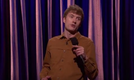 James Acaster made his American TV debut on Conan