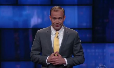 Keith Alberstadt on The Late Show with Stephen Colbert
