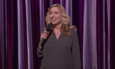 Laurie Kilmartin on Conan