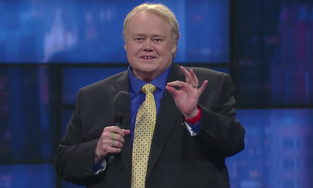 Louie Anderson on The Late Show with Stephen Colbert