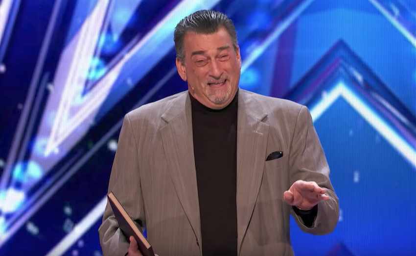 Celebrity impersonator from 1987 auditions for America's Got Talent 2017
