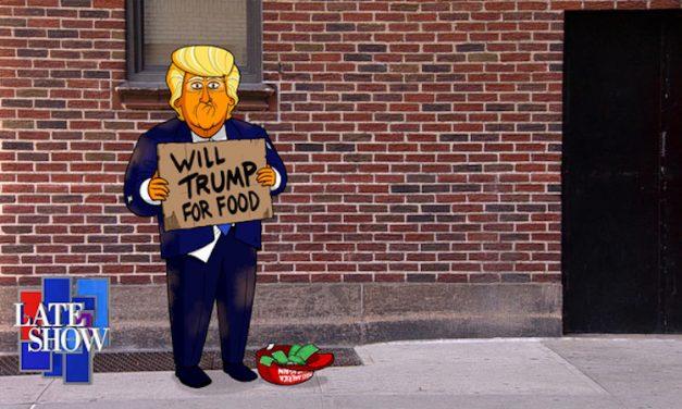 Stephen Colbert's Cartoon Trump earns spinoff sitcom series on Showtime