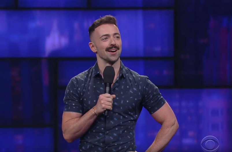 Matteo Lane on The Late Show with Stephen Colbert