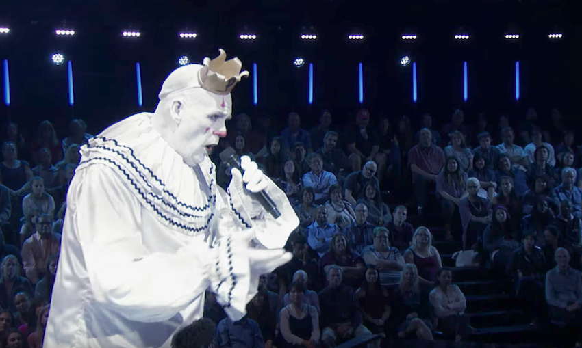 """Puddles Pity Party performs """"All By Myself"""" on America's Got Talent 2017"""
