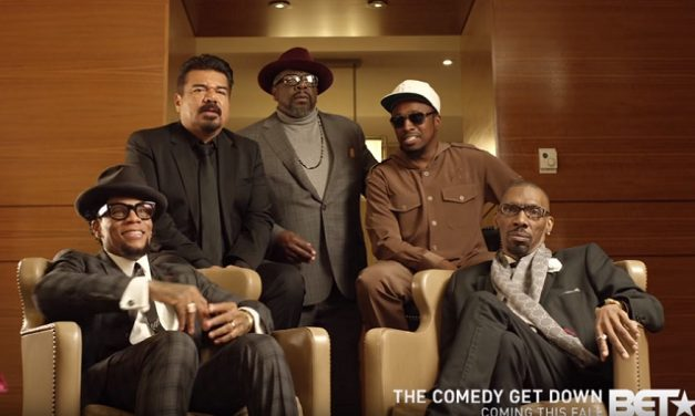 The late Charlie Murphy will still co-star in BET's The Comedy Get Down, coming Fall 2017