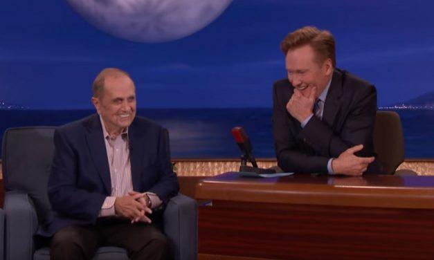 On Conan, Bob Newhart remembers meeting Don Rickles, and the joke thief who changed Newhart's career