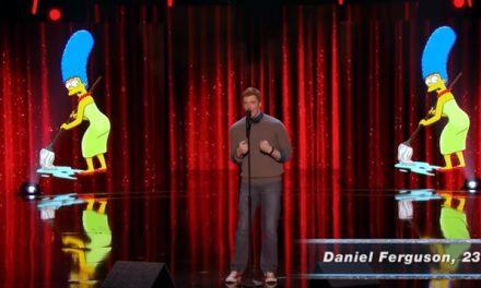 Daniel Ferguson's singing impressions on America's Got Talent