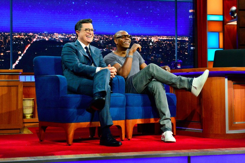 Dave Chappelle on The Late Show with Stephen Colbert