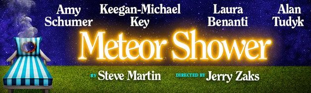 """""""Meteor Shower,"""" Steve Martin's newest play, will mark Broadway debuts for Amy Schumer and Keegan-Michael Key in 2017"""