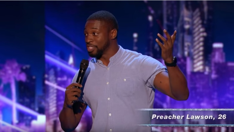 Preacher Lawson performs on Judge Cuts night of America's Got Talent 2017