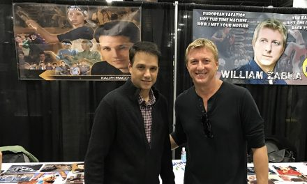 "Karate Kid Ralph Macchio all grown up, reunited with ""Cobra Kai"" for YouTube Red"