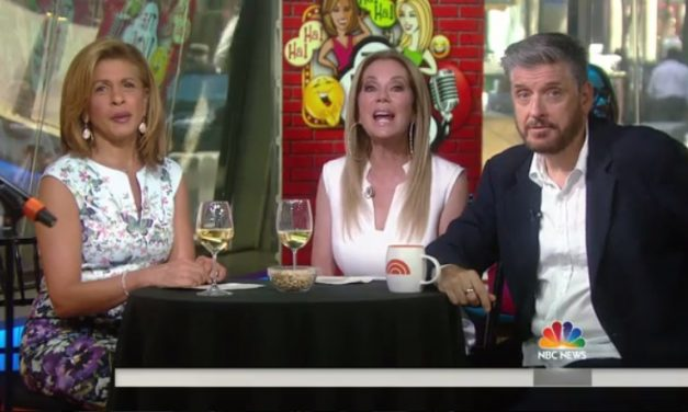 "Hoda and Kathie Lee torture three aspiring comedians and Craig Ferguson during morning ""happy hour"""