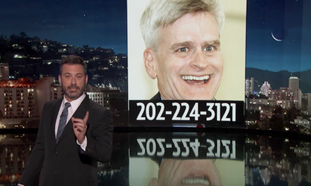 Jimmy Kimmel rips U.S. Sen. Bill Cassidy for misleading America on health care, using Kimmel's name in vain